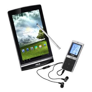 Gadget dengan layar capacitive