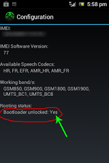 Unlock bootloader Live With Walkman