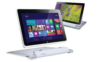Salah satu PC tablet dengan Windows 8