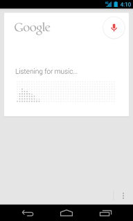 Mencari lagu dengan google search