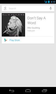 Mencari judul lagu dengan google search