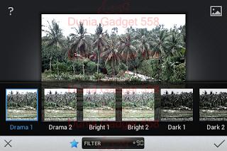 Filter pada Snapseed
