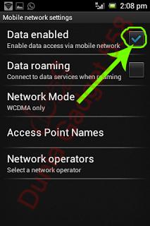 Mematikan internet pada Android