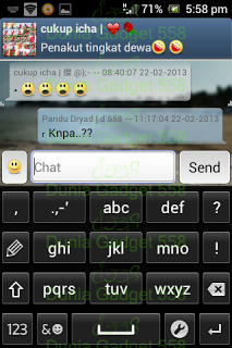 Keyboard numerik Android