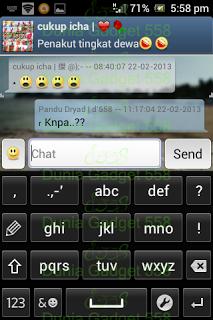 Keyboard numerik Android