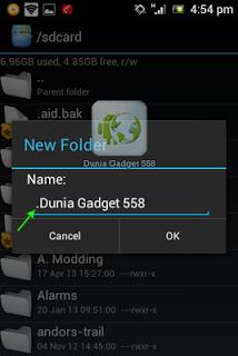 Cara menyembunyikan foto di Android