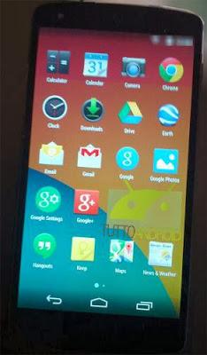 Bocoran gambar Nexus 5