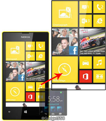 Cara screenshot Nokia Lumia 520