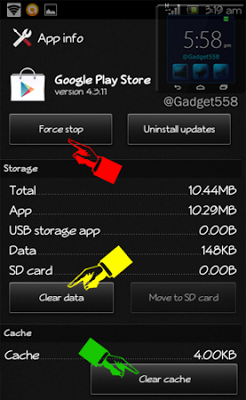 "Cara mengatasi ""sayangnya Google Play Store telah berhenti"""
