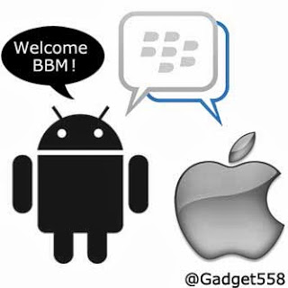 DP BBM welcome BBM for Android anda iPhone