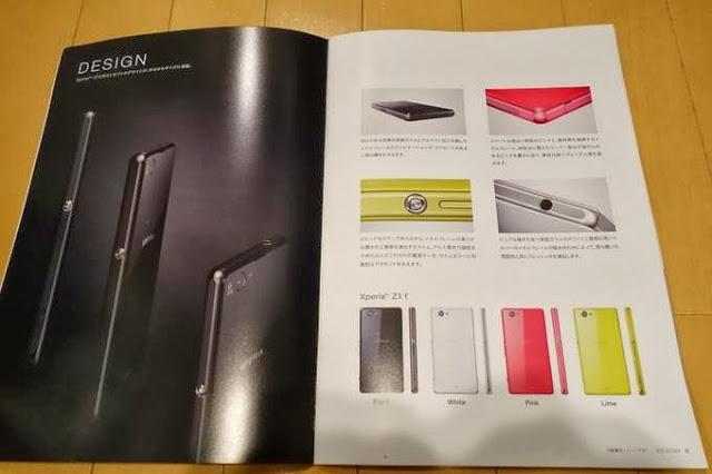 Gambar bocoran Xperia Z1 mini, Z1 f