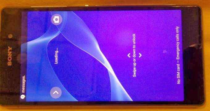 Foto bocoran Sony Sirius Xperia Z2