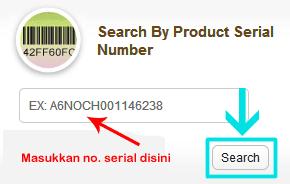Mencari tau tipe model laptop ASUS