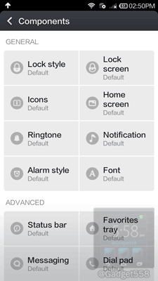 Kostumasi tampilan pada Xiaomi Redmi Note