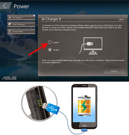 Fitur Ai Charger ASUS