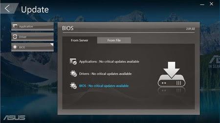 Fitur update ASUS AIO PC