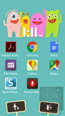 Kids mode ASUS Zenfone 2