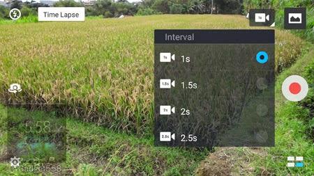 Fitur time lapse pada Zenfone 2