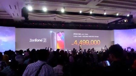 Harga ASUS Zenfone 2 Indonesia