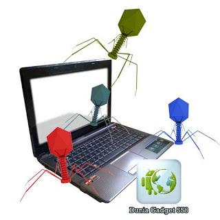 Malware menyerang komputer (Ilustrasi)