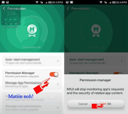 Mengatasi pesan peringatan keamanan pada Xiaomi