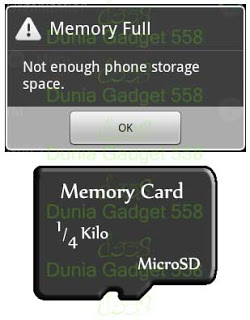 Memory android penuh