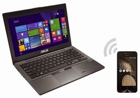 Mengendalikan laptop dengan smartphone