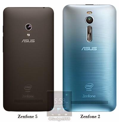 Zenfone 5 dan Zenfone 2
