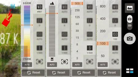 Pengaturan manual pada Zenfone 2