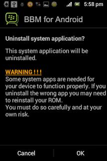Aplikasi bawaan pada Android