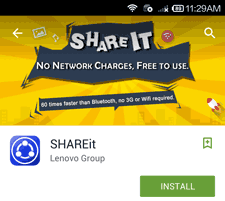 Aplikasi share it untuk mengirim data via wifi