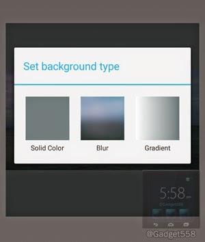 Memilih background untuk foto squaredroid