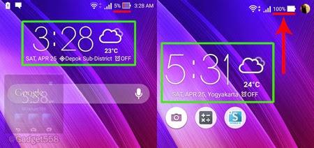 Kecepatan charging Zenfone 2