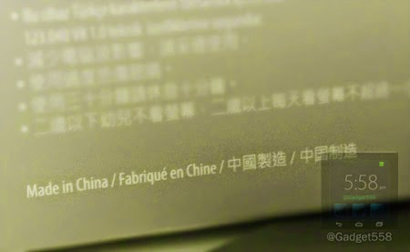 Label produk made in China