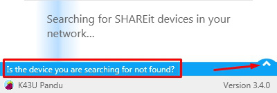 Mengirim file ke sesama laptop menggunakan shareit
