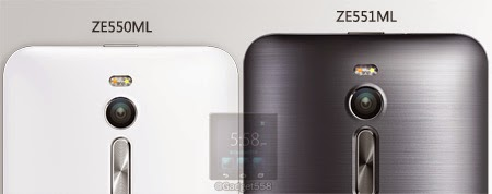 Perbedaan ASUS Zenfone 2 ZE551ML dan ZE550ML