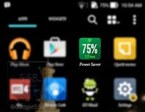 Power saver mode pada Zenfone