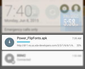 Aplikasi untuk ganti font ASUS Zenfone