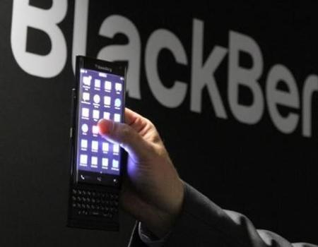 Blackberry menggunakan Android