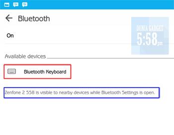 Cara menggunakan keyboard bluetooth pada Android
