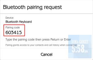 Cara pairing keyboard ke Android