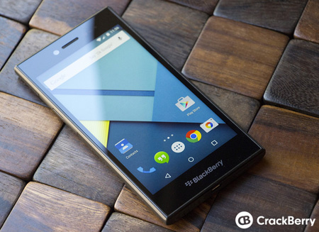 Smartphone BlackBerry OS Android