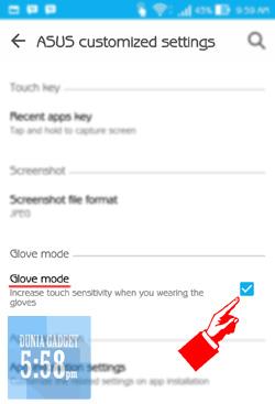 Cara mengatasi layar yang terlalu sensitif