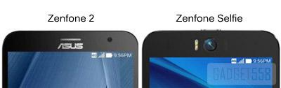 Apa bedanya zenfone 2 dengan zenfone selfie