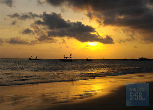 Foto sunset Zenfone 2