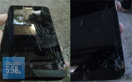 Layar Dengan Gorilla Glass 3 Pecah