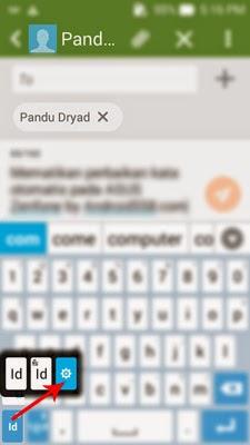 Menyembunyikan saran kata keyboard ASUS