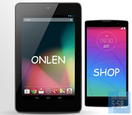 Memilih gadget untuk toko online