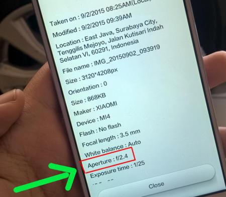 Ciri Xiaomi palsu