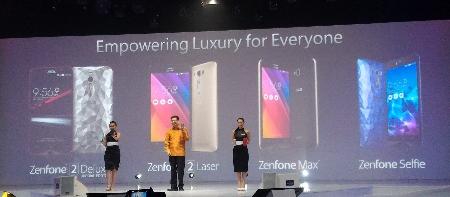 ASUS Memperkenalkan 4 seri Zenfone